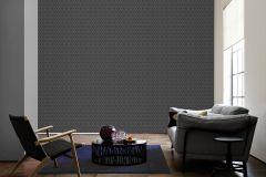 96197-5 cikkszámú tapéta.Barokk-klasszikus,valódi textil,fekete,szürke,gyengén mosható,vlies tapéta