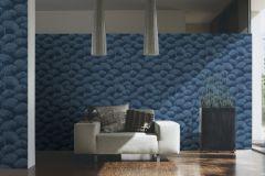 96198-3 cikkszámú tapéta.Barokk-klasszikus,természeti mintás,valódi textil,kék,gyengén mosható,vlies tapéta