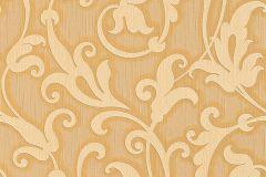 95490-3 cikkszámú tapéta.Különleges motívumos,természeti mintás,valódi textil,virágmintás,bézs-drapp,bronz,vajszín,gyengén mosható,vlies tapéta