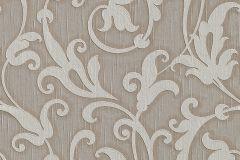 95490-6 cikkszámú tapéta.Különleges motívumos,természeti mintás,valódi textil,virágmintás,bézs-drapp,vajszín,gyengén mosható,vlies tapéta