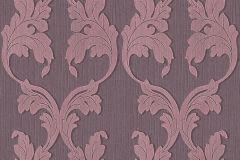 95628-5 cikkszámú tapéta.Barokk-klasszikus,különleges motívumos,természeti mintás,valódi textil,virágmintás,pink-rózsaszín,gyengén mosható,vlies tapéta