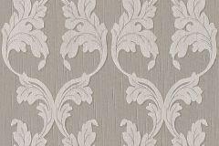 95628-6 cikkszámú tapéta.Barokk-klasszikus,különleges motívumos,természeti mintás,valódi textil,virágmintás,barna,szürke,gyengén mosható,vlies tapéta