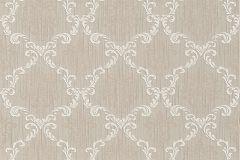 95629-1 cikkszámú tapéta.Barokk-klasszikus,különleges motívumos,természeti mintás,valódi textil,virágmintás,barna,fehér,gyengén mosható,vlies tapéta