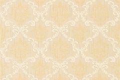 95629-2 cikkszámú tapéta.Különleges motívumos,természeti mintás,valódi textil,virágmintás,fehér,narancs-terrakotta,gyengén mosható,vlies tapéta