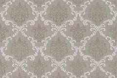 95629-6 cikkszámú tapéta.Különleges motívumos,természeti mintás,valódi textil,virágmintás,barna,fehér,gyengén mosható,vlies tapéta