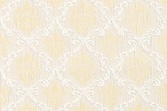 95629-7 cikkszámú tapéta.Barokk-klasszikus,különleges motívumos,természeti mintás,valódi textil,virágmintás,arany,fehér,gyengén mosható,vlies tapéta