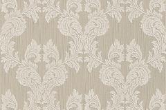 95630-1 cikkszámú tapéta.Barokk-klasszikus,különleges motívumos,természeti mintás,valódi textil,virágmintás,barna,szürke,gyengén mosható,vlies tapéta