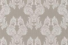 95630-6 cikkszámú tapéta.Különleges motívumos,természeti mintás,valódi textil,virágmintás,barna,fehér,gyengén mosható,vlies tapéta