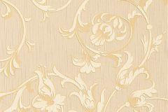 95633-2 cikkszámú tapéta.Különleges motívumos,természeti mintás,valódi textil,virágmintás,narancs-terrakotta,vajszín,gyengén mosható,vlies tapéta