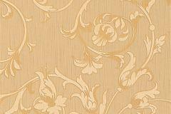 95633-3 cikkszámú tapéta.Különleges motívumos,természeti mintás,valódi textil,virágmintás,bronz,narancs-terrakotta,gyengén mosható,vlies tapéta