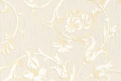 95633-7 cikkszámú tapéta.Különleges motívumos,természeti mintás,valódi textil,virágmintás,fehér,narancs-terrakotta,pink-rózsaszín,gyengén mosható,vlies tapéta