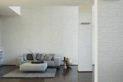 2040-42 cikkszámú tapéta.Konyha-fürdőszobai,kőhatású-kőmintás,különleges felületű,fehér,lemosható,papír tapéta