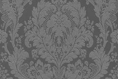 32750-4 cikkszámú tapéta.Barokk-klasszikus,csillámos,különleges felületű,ezüst,szürke,lemosható,papír tapéta