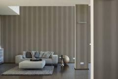 34861-3 cikkszámú tapéta.Csíkos,csillámos,különleges felületű,barna,ezüst,lemosható,illesztés mentes,papír tapéta