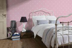 35991-2 cikkszámú tapéta.Csillámos,gyerek,fehér,pink-rózsaszín,lemosható,papír tapéta