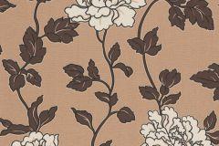 36695-6 cikkszámú tapéta.Virágmintás,barna,bézs-drapp,lemosható,papír tapéta