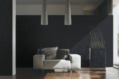 93754-3 cikkszámú tapéta.Egyszínű,különleges felületű,fekete,súrolható,illesztés mentes,papír tapéta