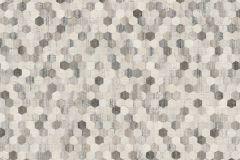 37463-3 cikkszámú tapéta.Absztrakt,textilmintás,barna,bézs-drapp,szürke,súrolható,vlies tapéta