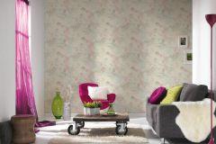 37466-3 cikkszámú tapéta.Különleges motívumos,természeti mintás,pink-rózsaszín,szürke,türkiz,súrolható,vlies tapéta