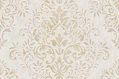 33924-4 cikkszámú tapéta.Barokk-klasszikus,különleges felületű,különleges motívumos,virágmintás,bézs-drapp,fehér,vajszínű,lemosható,vlies tapéta