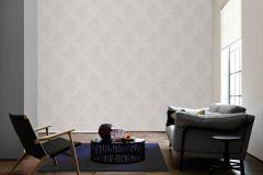 33924-6 cikkszámú tapéta.Barokk-klasszikus,különleges felületű,rajzolt,textil hatású,virágmintás,bézs-drapp,fehér,szürke,lemosható,vlies tapéta