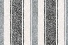 33925-3 cikkszámú tapéta.Csíkos,dekor tapéta ,különleges felületű,rajzolt,retro,ezüst,fehér,fekete,szürke,lemosható,illesztés mentes,vlies tapéta