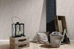 33927-5 cikkszámú tapéta.Csíkos,dekor tapéta ,egyszínű,fa hatású-fa mintás,különleges felületű,retro,bézs-drapp,szürke,lemosható,illesztés mentes,vlies tapéta