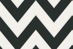 93943-1 cikkszámú tapéta.Csíkos,különleges felületű,rajzolt,retro,ezüst,fehér,fekete,lemosható,vlies tapéta