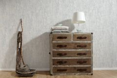 94426-3 cikkszámú tapéta.Absztrakt,csíkos,dekor tapéta ,különleges felületű,retro,ezüst,fehér,szürke,lemosható,illesztés mentes,vlies tapéta