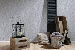 94426-5 cikkszámú tapéta.Absztrakt,csíkos,dekor tapéta ,különleges felületű,retro,ezüst,fehér,szürke,lemosható,illesztés mentes,vlies tapéta