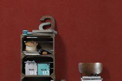 95262-4 cikkszámú tapéta.Dekor tapéta ,egyszínű,különleges felületű,textil hatású,piros-bordó,súrolható,illesztés mentes,vlies tapéta