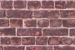 30682-1 cikkszámú tapéta.3d hatású,kőhatású-kőmintás,különleges felületű,barna,lila,narancs-terrakotta,pink-rózsaszín,piros-bordó,zebra,súrolható,vlies tapéta