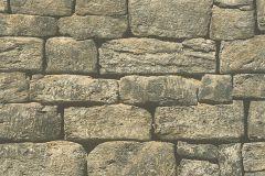 30722-1 cikkszámú tapéta.3d hatású,kőhatású-kőmintás,különleges felületű,barna,bézs-drapp,szürke,zebra,zöld,súrolható,vlies tapéta