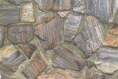 30724-1 cikkszámú tapéta.3d hatású,absztrakt,kőhatású-kőmintás,különleges felületű,barna,lila,narancs-terrakotta,zebra,zöld,súrolható,vlies tapéta