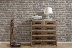 31944-1 cikkszámú tapéta.3d hatású,kőhatású-kőmintás,különleges felületű,barna,bézs-drapp,szürke,súrolható,vlies tapéta