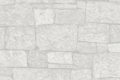31994-1 cikkszámú tapéta.3d hatású,kőhatású-kőmintás,különleges felületű,ezüst,szürke,súrolható,vlies tapéta