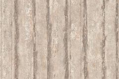 32706-3 cikkszámú tapéta.Dekor tapéta ,fa hatású-fa mintás,különleges felületű,barna,bézs-drapp,szürke,súrolható,illesztés mentes,vlies tapéta