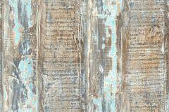 35413-1 cikkszámú tapéta.Absztrakt,dekor tapéta ,fa hatású-fa mintás,különleges felületű,bézs-drapp,kék,szürke,türkiz,súrolható,illesztés mentes,vlies tapéta