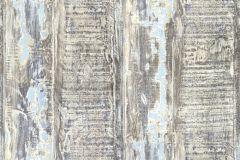 35413-2 cikkszámú tapéta.Absztrakt,dekor tapéta ,fa hatású-fa mintás,különleges felületű,barna,bézs-drapp,kék,türkiz,vajszín,súrolható,illesztés mentes,vlies tapéta