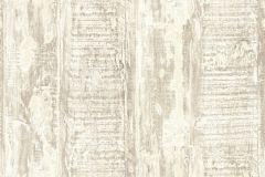 35413-5 cikkszámú tapéta.Absztrakt,dekor tapéta ,fa hatású-fa mintás,különleges felületű,bézs-drapp,vajszín,súrolható,illesztés mentes,vlies tapéta