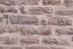 35580-1 cikkszámú tapéta.3d hatású,kőhatású-kőmintás,különleges felületű,barna,bézs-drapp,lila,súrolható,vlies tapéta