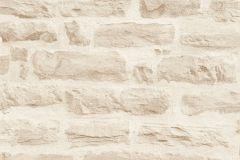 35580-3 cikkszámú tapéta.3d hatású,kőhatású-kőmintás,különleges felületű,bézs-drapp,vajszín,súrolható,vlies tapéta