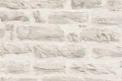 35580-4 cikkszámú tapéta.3d hatású,kőhatású-kőmintás,különleges felületű,fehér,szürke,súrolható,vlies tapéta