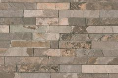 35582-2 cikkszámú tapéta.3d hatású,kőhatású-kőmintás,különleges felületű,barna,bézs-drapp,narancs-terrakotta,szürke,vajszín,súrolható,vlies tapéta