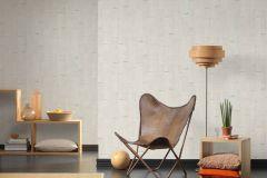 35584-2 cikkszámú tapéta.3d hatású,fa hatású-fa mintás,különleges felületű,fehér,szürke,súrolható,vlies tapéta