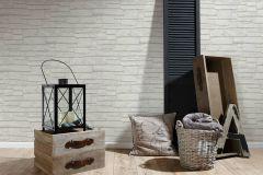 6623-16 cikkszámú tapéta.3d hatású,kőhatású-kőmintás,különleges felületű,fehér,szürke,lemosható,vlies tapéta