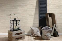 6623-23 cikkszámú tapéta.3d hatású,kőhatású-kőmintás,különleges felületű,bézs-drapp,szürke,lemosható,vlies tapéta
