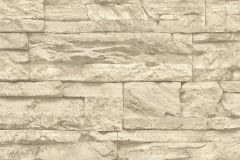 7071-30 cikkszámú tapéta.3d hatású,kőhatású-kőmintás,különleges felületű,vajszínű,bézs-drapp,szürke,súrolható,vlies tapéta