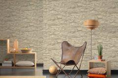 7071-30 cikkszámú tapéta.3d hatású,kőhatású-kőmintás,különleges felületű,zebra,bézs-drapp,szürke,súrolható,vlies tapéta
