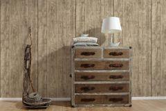 7088-16 cikkszámú tapéta.3d hatású,dekor,fa hatású-fa mintás,különleges felületű,természeti mintás,barna,szürke,súrolható,illesztés mentes,vlies tapéta